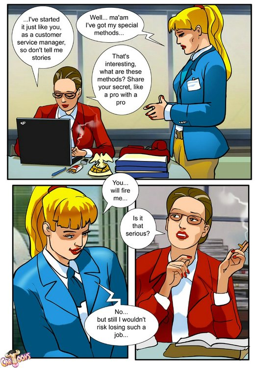 Businesswoman Porn Comics - Animated Girl Is Getting A Hardcore Fuck by Her Shemale Sex Partner